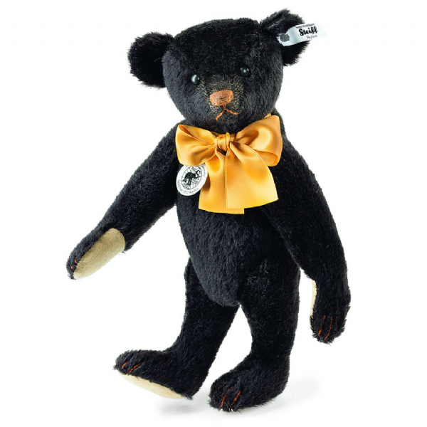 Steiff Black Teddy Bear,Limited Edition replica 1912. EAN 403200. Free UK Postage.